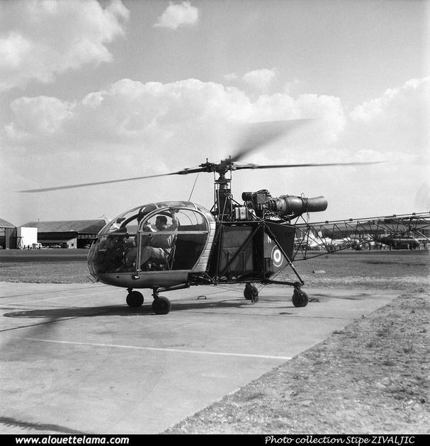 Pierre GILLARD: Prototypes : SA-315B Lama 001 &emdash; 008366