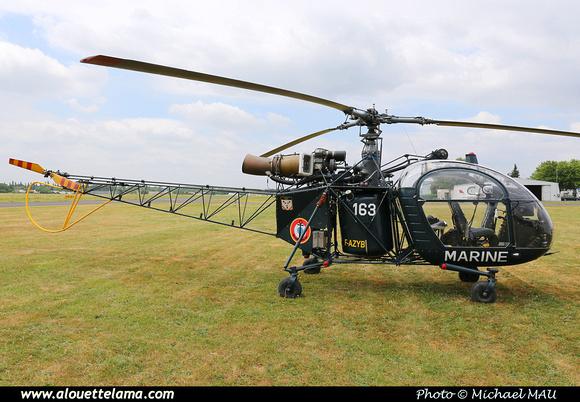 Pierre GILLARD: 2015-06-20 & 21 - Fly-in Lognes - 60 ans/60 Years Alouette II &emdash; 008752
