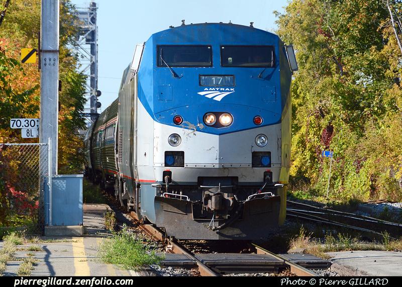 Pierre GILLARD: Etats-Unis d'Amérique : Amtrak - Adirondack &emdash; 2015-508510