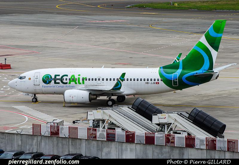 Pierre GILLARD: Equatorial Congo Airlines &emdash; 2016-701353