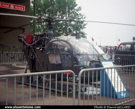 Pierre GILLARD: Aéronefs : Alouette II Artouste &emdash; A12-006228