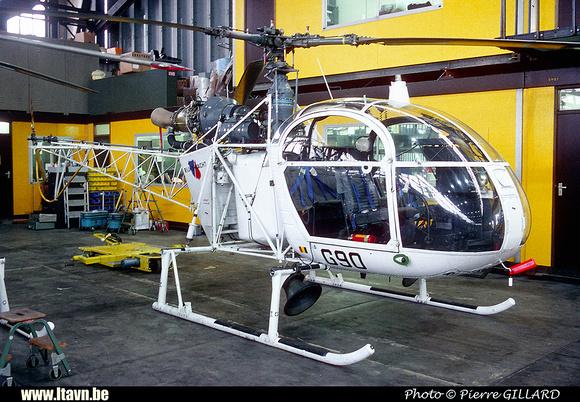 Pierre GILLARD: Aéronefs : Alouette II Astazou &emdash; G90-006481