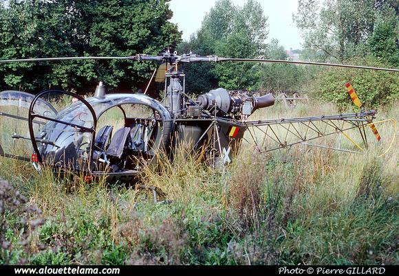 Pierre GILLARD: Aéronefs : Alouette II Astazou &emdash; A67-006544