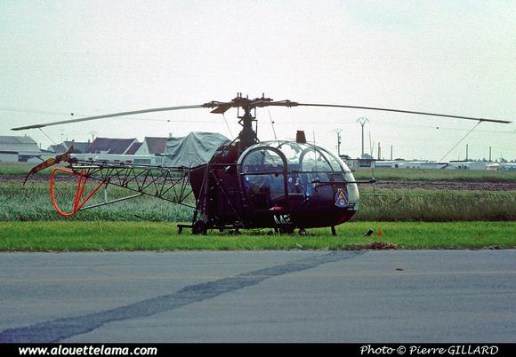 Pierre GILLARD: Aéronefs : Alouette II Astazou &emdash; A42-006437