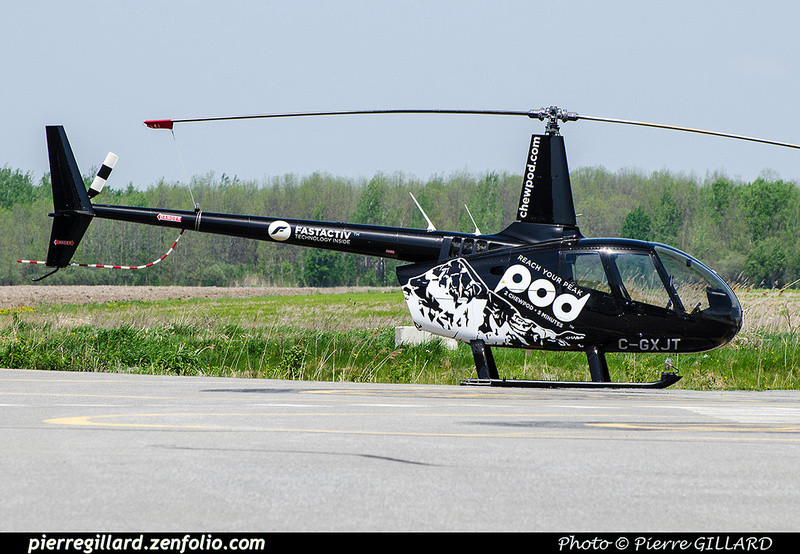 Pierre GILLARD: Canada - Hélicoptères privés - Private Helicopters &emdash; 2017-702887