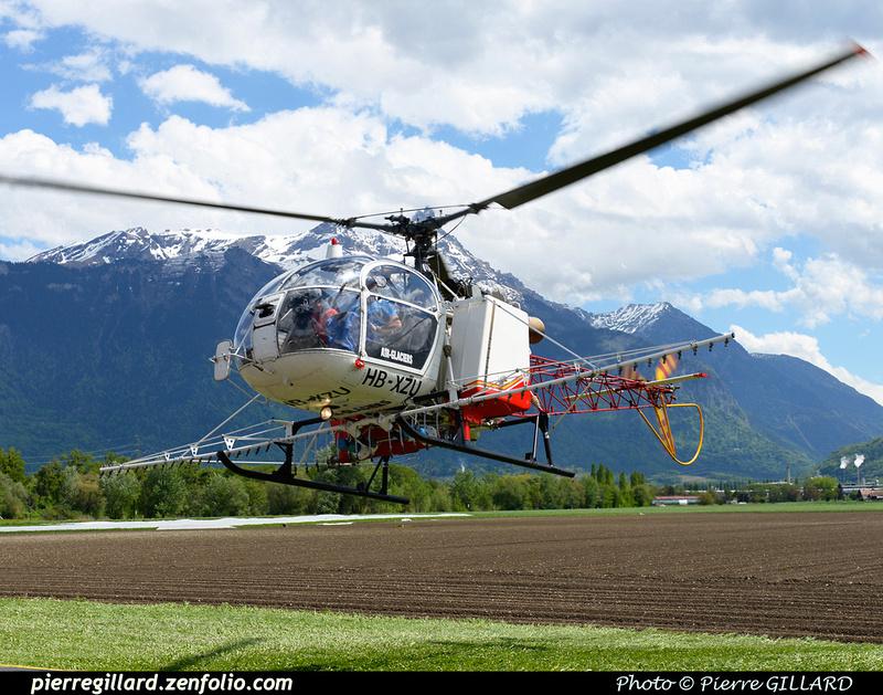 Pierre GILLARD: Air Glaciers - 2015-05-06 &emdash; 2015-600555