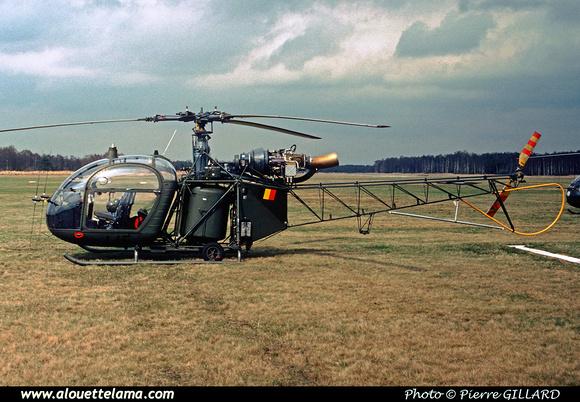 Pierre GILLARD: Aéronefs : Alouette II Astazou &emdash; A45-006453