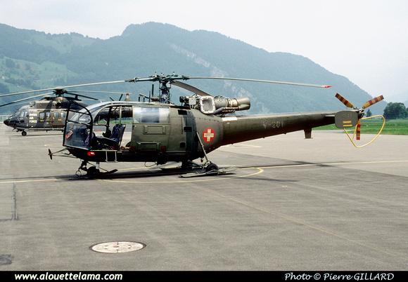 Pierre GILLARD: Forces Aériennes - Alouette III &emdash; V201-006963