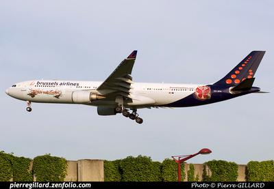 Pierre GILLARD: Brussels Airlines &emdash; OO-SFN-2014-319903