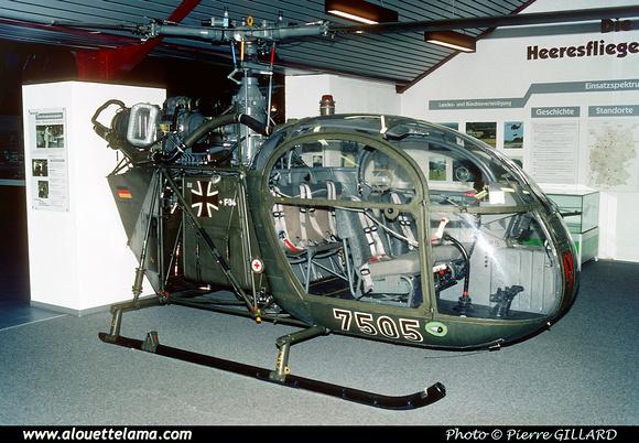 Pierre GILLARD: Germany - Hubschraubermuseum Bückeburg &emdash; 006067