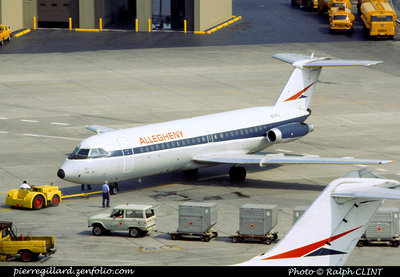 Pierre GILLARD: Allegheny Airlines &emdash; 005555