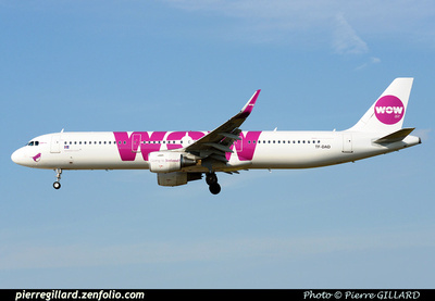 Pierre GILLARD: Wow Air &emdash; 2015-413193