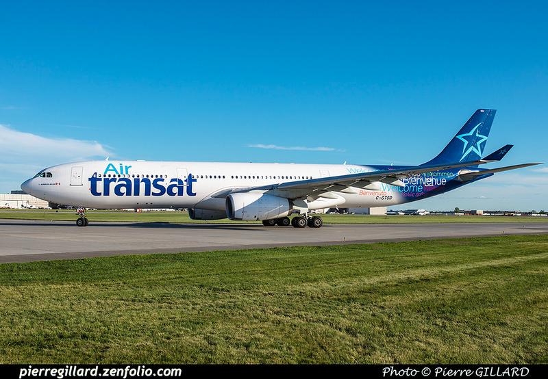 Pierre GILLARD: Air Transat &emdash; 2016-608575
