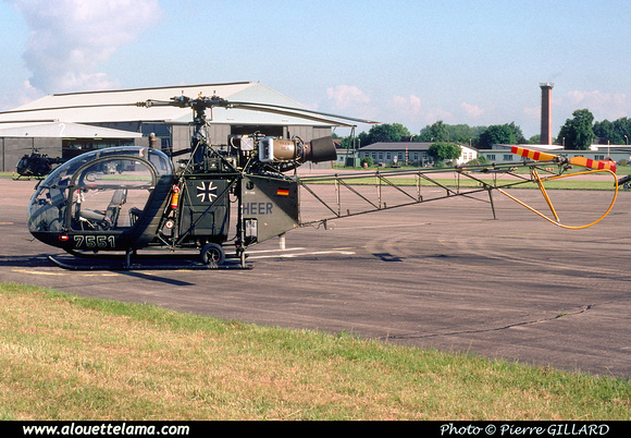 Pierre GILLARD: Germany - Heeresflieger &emdash; 006131