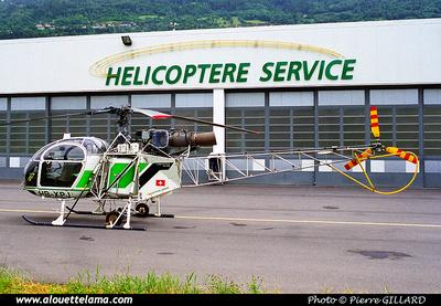 Pierre GILLARD: Switzerland - Hélicoptère Service &emdash; 2002-008-7-19A