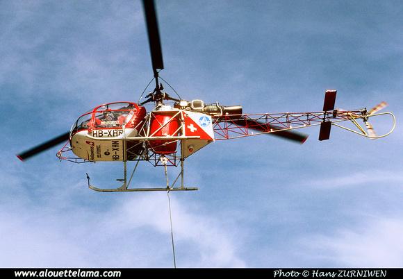 Pierre GILLARD: Air Zermatt - Alouettes & Lamas &emdash; XHN-006028