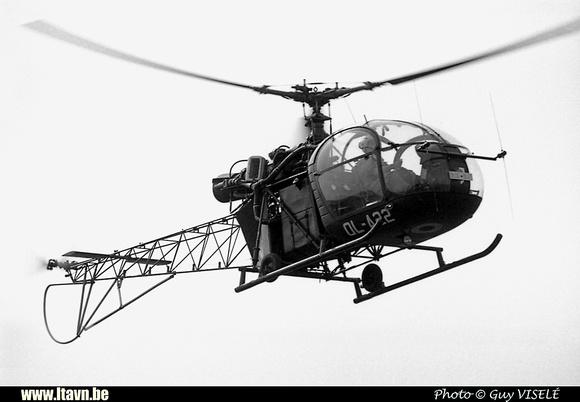 Pierre GILLARD: Aéronefs : Alouette II Artouste &emdash; A22-030213