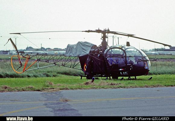 Pierre GILLARD: Aéronefs : Alouette II Astazou &emdash; A46-006457