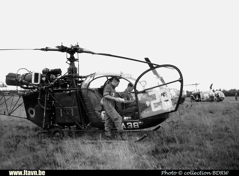 Pierre GILLARD: Aéronefs : Alouette II Artouste &emdash; A38-008399