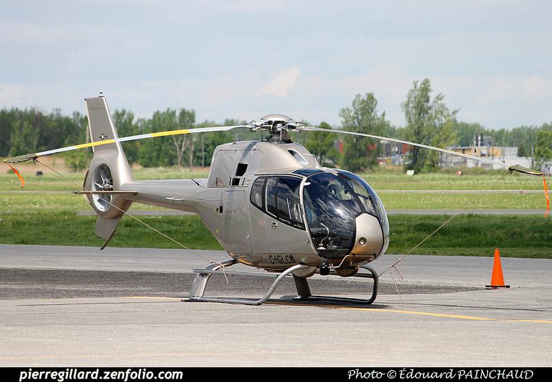 Pierre GILLARD: Canada - Capitale Hélicoptère &emdash; 008999
