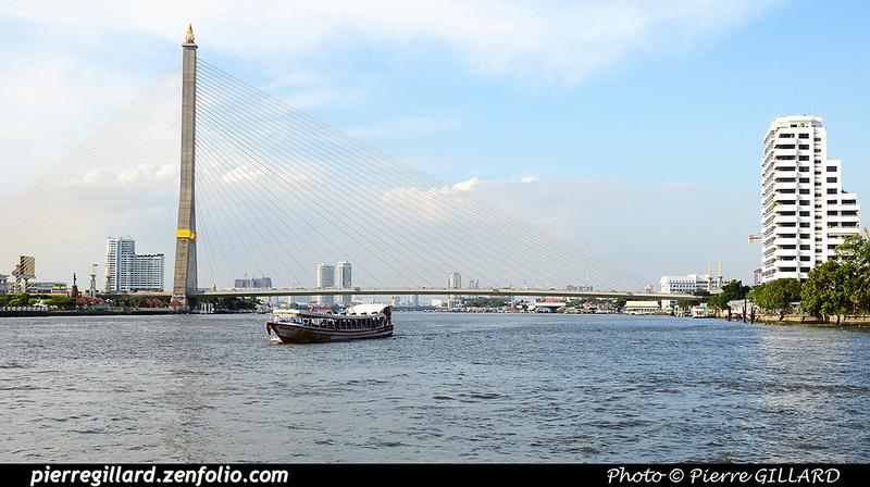Pierre GILLARD: Bangkok - Chao Phraya &emdash; 2016-513327
