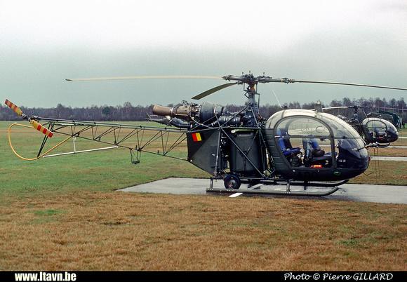 Pierre GILLARD: Aéronefs : Alouette II Astazou &emdash; A90-006480