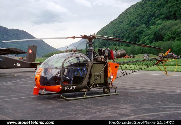 Pierre GILLARD: Troupe d'Aviation - Alouette II &emdash; 006040