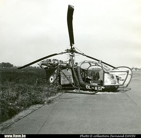Pierre GILLARD: Aéronefs : Alouette II Astazou &emdash; A51-030049