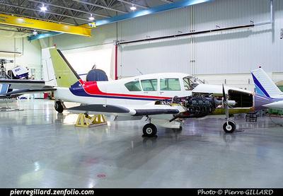 Pierre GILLARD: Piper PA23 C-GPJQ &emdash; 2001-061-4-33