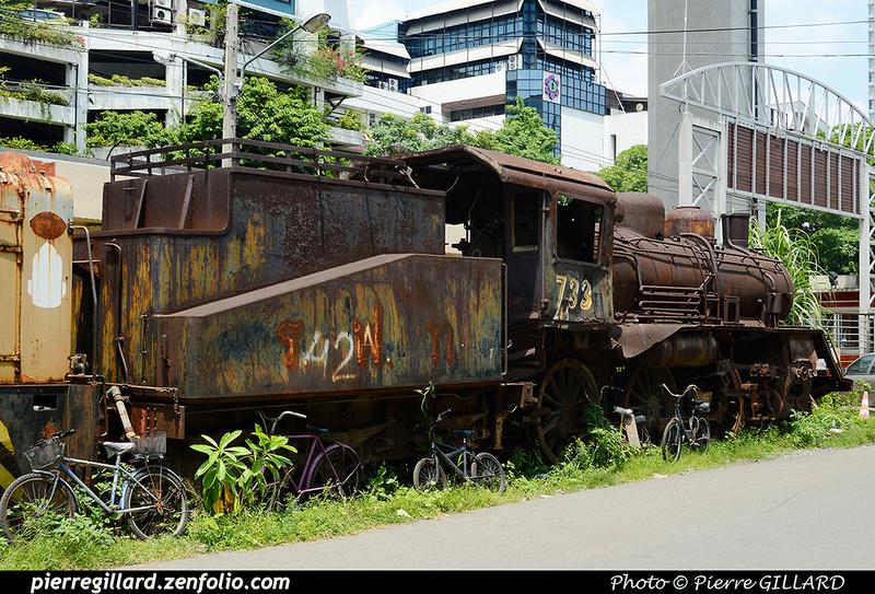 Pierre GILLARD: Thaïlande : Makkasan Train Depot &emdash; 2016-516559